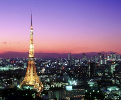 Tokyo Tower and Roppongi