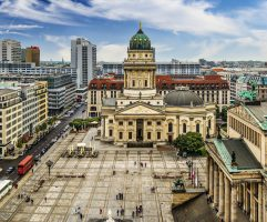 Gendarmenmarkt Square in Berlin