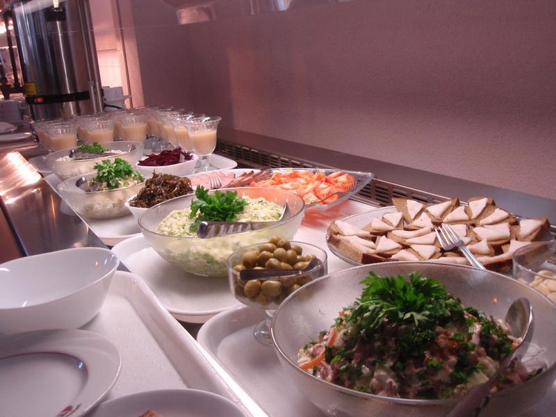 Минусы шведского стола
