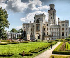 Замок-Глубока-над-Влтавой-сады